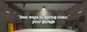 Spring Cleaning Your Garage